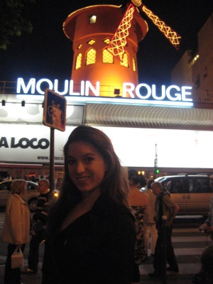 Dany Rambles at Moulin Rouge